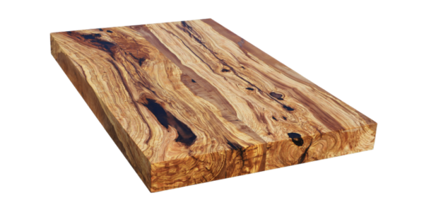 solid olive wood table top